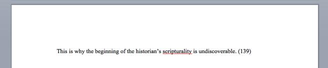 scripturality